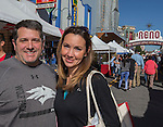 RJ & Christy Capra from Oregon attend the 35th Annual Eldorado Great Italian Festival held in downtown Reno on Saturday, October 8, 2016.
