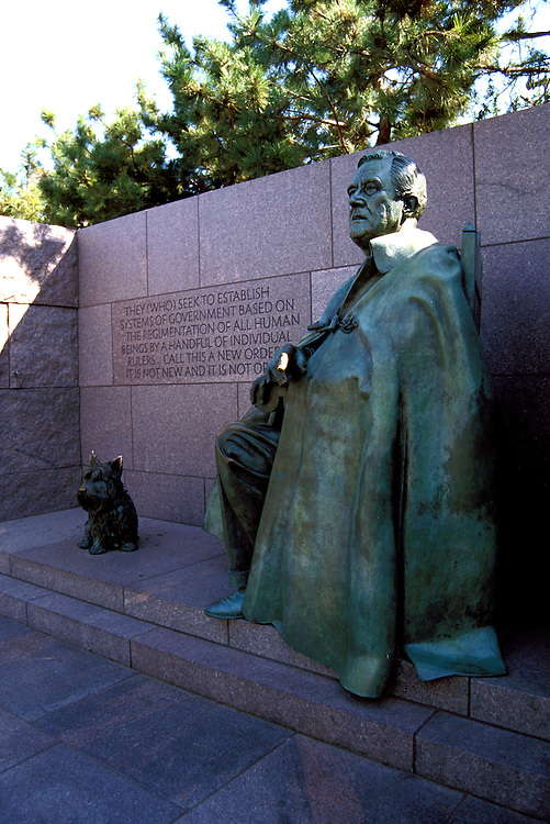 Washington DC: FDR Memorial.  Photo #: wash99105.Photo copyright Lee Foster, www.fostertravel.com, 510/549-2202, lee@fostertravel.com