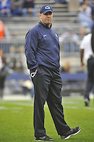 06 October 2012:  Penn State head coach Bill O'Brien.  The Penn State Nittany Lions defeated the Northwestern Wildcats 39-28 at Beaver Stadium in State College, PA.