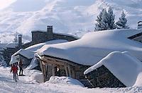 Europe/France/Rhône-Alpes/74/Haute-Savoie/Avoriaz: châlet de la station