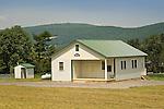 Amish Schoolhouse. Sugar Valley, PA.