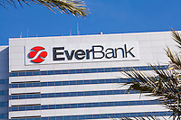 The EverBank headquarters is seen on a building in Jacksonville, Florida Friday April 26, 2013.