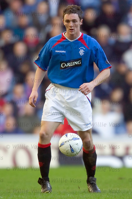 Maurice Ross, Rangers.stock season 2004-2005.pic willie vass