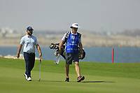 Andy Sullivan (ENG) during the first round of the NBO Open played at Al Mouj Golf, Muscat, Sultanate of Oman. <br /> 15/02/2018.<br /> Picture: Golffile | Phil Inglis<br /> <br /> <br /> All photo usage must carry mandatory copyright credit (&copy; Golffile | Phil Inglis)