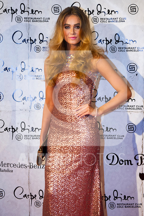 Swedish model Nicoline Artursson attends the 10th anniversary celebration 'CDLC Carpe Diem: 10 years, the birthday' of CDLC Carpe Diem Lounge Club on November 8, 2013 in Barcelona, Spain. (ALTERPHOTOS/Alex Caparros)