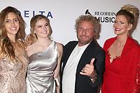 LOS ANGELES - FEB 8:  Samantha Hagar, Kama Hagar, Sammy Hagar, Kari Karte at the MusiCares Person of the Year Gala at the LA Convention Center on February 8, 2019 in Los Angeles, CA