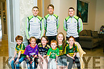 At the Launch of the  Kerry GAA & Horans Health Store  sponsorship event at the rose hotel on Monday l-r  Jack Collins, Laura Moriarty, Aine Donegan, Aoife Donegan and Sarah Moriarty. Back l-r  Peter Crowley, Donnacha Walsh and Mark Griffin.