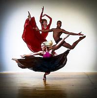 Dancer: Aileen E Braun (Roehl), Edward Spots & Lindsey Miller