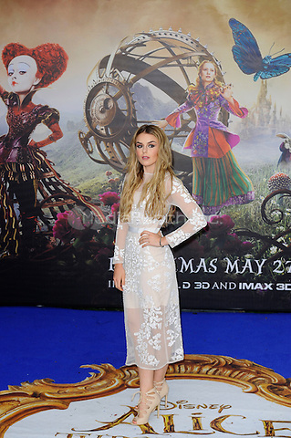 LONDON, ENGLAND - MAY 10: Tallia Storm attending the 'Alice Through The Looking Glass' European Premiere at Odeon Cinema, Leicester Square in London. on May 10, 2016 in London, England.<br /> CAP/MAR<br /> &copy; Martin Harris/Capital Pictures /MediaPunch ***NORTH AND SOUTH AMERICA ONLY***