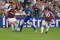 Marko Arnautovic of West Ham and Michael Keane Of Everton during West Ham United vs Everton, Premier League Football at The London Stadium on 13th May 2018