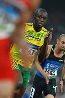 Usain Bolt, Jamaica, Men's 200m <br /> National stadium - Bird Nest<br /> Pechino - Beijing 17/8/2008 Olimpiadi 2008 Olympic Games<br /> Foto Andrea Staccioli Insidefoto<br /> National stadium - Bird Nest<br /> Pechino - Beijing 17/8/2008 Olimpiadi 2008 Olympic Games<br /> Foto Andrea Staccioli Insidefoto