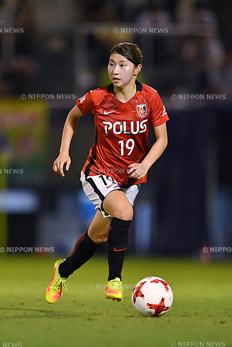 Yuzuho Shiokoshi (Reds Ladies), <br /> AUGUST 12, 2017 - Football / Soccer : <br /> Plenus Nadeshiko League Cup 2017 Division 1 <br /> Final match between JEF United Ichihara Chiba Ladies 1-0 Urawa Reds Ladies<br /> at Nishigaoka Soccer Stadium in Tokyo, Japan. <br /> (Photo by MATSUO.K/AFLO)