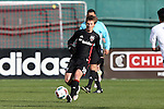 09 April 2016: DC United's Chris Rolfe. DC United hosted the Vancouver Whitecaps FC at RFK Stadium in Washington, DC in a 2016 Major League Soccer regular season game. DC United won the match 4-0.