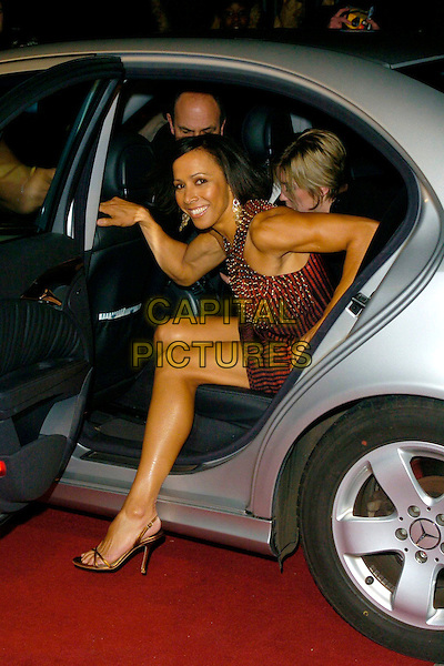 "DAME KELLY HOLMES.Arrivals - ""An Audience With Lionel Richie"" TV recording, ITV Television Centre, Aouth Bank, London, England, December 9th 2006..full length getting out of car.CAP/CAN.©Can Nguyen/Capital Pictures"