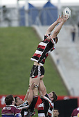 Andrew Van der Heijden during the Air NZ Cup game between the Counties Manukau Steelers and Southland played at Mt Smart Stadium on 3rd September 2006. Counties Manukau won 29 - 8.