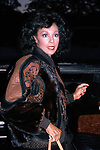 Diahann Carroll Leaving Tavern On The Green Restaurant in her <br />Limo / Car in New York City.<br />May 1985