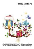 Marcello, CHRISTMAS ANIMALS, WEIHNACHTEN TIERE, NAVIDAD ANIMALES, paintings+++++,ITMCXM1896,#XA# ,owls