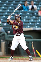 Riccio Torrez #30 bats against Northern Illinois University in the annual Coca-Cola Classic at Surprise Stadium on March 4, 2011 in Surprise, Arizona..Photo by:  Bill Mitchell/Four Seam Images.