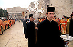 Bethlehem, Greek Ortodox Christmas Procession in front of the Church of the Nativity&#xA;<br />