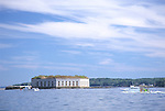 Fort Gorges, Portland, Maine, USA