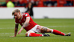 Jason Cummings of Nottingham Forest during the Championship match at the City Ground Stadium, Nottingham. Picture date 30th September 2017. Picture credit should read: Simon Bellis/Sportimage