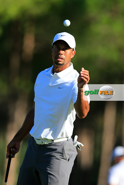 Tiger WOODS (USA)  during round 2 of the Turkish Airlines Open presented by the Ministry of Tourism and Culture, hosted at the The Montgomerie Maxx Royal,Antalya,Turkey.<br /> Picture: Fran Caffrey www.golffile.ie