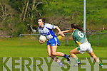 Lorraine Scanlon  Castleisland Desmonds/Duagh goes past Caroline Kelly Southern Gaels  in the County final in Killorglin on Sunday