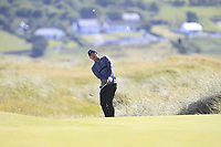 Rak Hyun Cho (KOR) on the 16th during Round 1 of the Dubai Duty Free Irish Open at Ballyliffin Golf Club, Donegal on Thursday 5th July 2018.<br /> Picture:  Thos Caffrey / Golffile