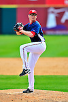 8 March 2010: Washington Nationals' pitcher Tyler Clippard on the mound during a Spring Training game against the Florida Marlins at Space Coast Stadium in Viera, Florida. The Marlins defeated the Nationals 12-2 in Grapefruit League action. Mandatory Credit: Ed Wolfstein Photo