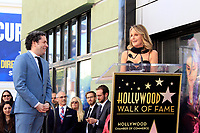 LOS ANGELES - JAN 22:  Gustavo Dudamel, Helen Hunt at the Gustavo Dudamel Star Ceremony on the Hollywood Walk of Fame on January 22, 2019 in Los Angeles, CA