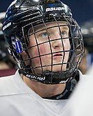 Daniel Carr (Union - 9) - The Union College Dutchmen practiced on Wednesday, April 4, 2012, during the 2012 Frozen Four at the Tampa Bay Times Forum in Tampa, Florida.