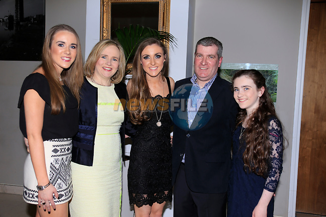 Fiona O'Grady 21h with Aoife Mary Brendan Niamh<br /> Picture www.newsfile.ie