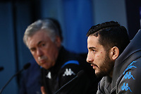 4th November 2019; Stadio San Paolo, Naples, Campania, Italy; UEFA Champions League Group Stage Football, Napoli versus Red Bull Salzburg, Napoli Press Conference; <br />