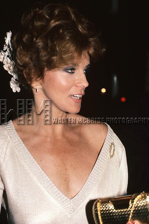Ann-Margaret pictured in New York City in 1983.