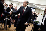 December 3, 2007. Greensboro, NC.. Presidential candidate and former New York Mayor, Rudy Giuliani held a fundraiser hosted by the North Carolina Women for Rudy coalition on the campus of NC A&T University in Greensboro, NC.. Giuliani spoke to the 750-800 person crowd about various campaign issues before departing for a private fundraiser.