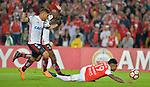 Independiente Santa igualó 0-0 ante Flamengo. Fase de grupos Conmebol Libertadores 2018.