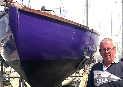 HYC Ian Byrne with a Howth 17