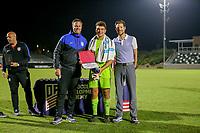 Irvine, CA - July 10, 2019: U.S. Soccer Boys' DA U-16/17 Final Solar Soccer Club vs Concorde Fire at Great Park.