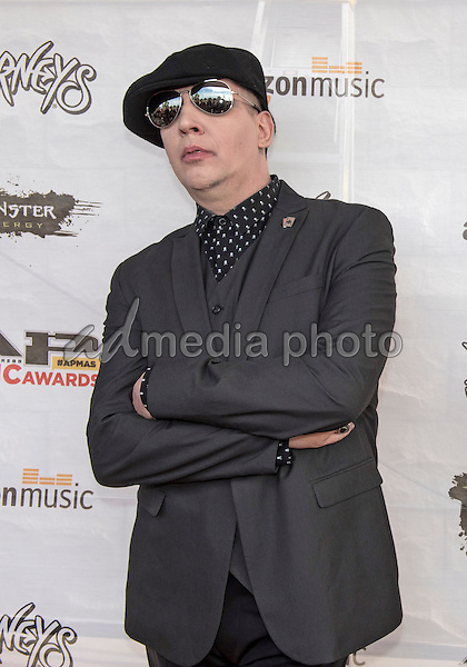 18 July 2016 - Columbus, Ohio - Marilyn Manson attends the Alternative Press Music Awards 2016 held at Jerome Schottenstein Center. Photo Credit: Jason L Nelson/AdMedia
