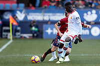 Roberto Torres (midfield; CA Osasuna) during the Spanish football of La Liga 123, match between CA Osasuna and  RCD Mallorca at the Sadar stadium, in Pamplona (Navarra), Spain, on Sunday, January 20, 2019.