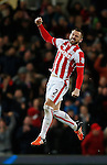 Phil Bardsley of Stoke City celebrates scoring he second goal - Capital One Cup Quarter-Final - Stoke City vs Sheffield Wednesday - Britannia Stadium - Stoke - England - 1st December 2015 - Picture Simon Bellis/Sportimage