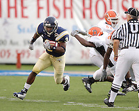 Florida International University Golden Panthers v. Bowling Green University Falcons at Miami, Florida on Saturday, September 16, 2006.<br /> <br /> Sophomore running back A'mod Ned (3)