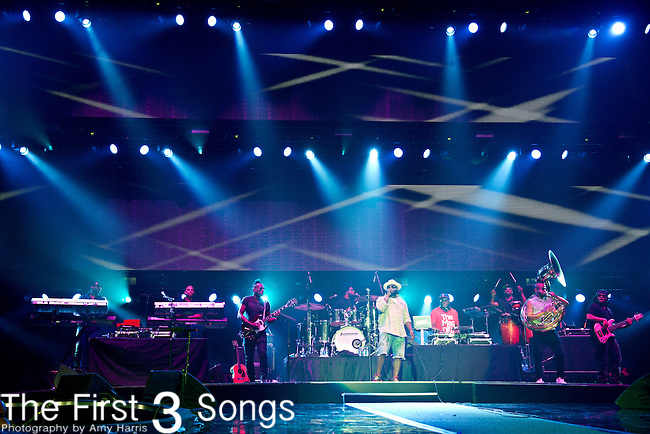 The Roots perform during the 2014 Essence Festival at the Mercedes-Benz Superdome in New Orleans, Louisiana.