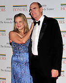 "James Taylor and his wife, Caroline ""Kim"" Smedvig, arrive for the formal Artist's Dinner honoring the recipients of the 2011 Kennedy Center Honors hosted by United States Secretary of State Hillary Rodham Clinton at the U.S. Department of State in Washington, D.C. on Saturday, December 3, 2011. The 2011 honorees are actress Meryl Streep, singer Neil Diamond, actress Barbara Cook, musician Yo-Yo Ma, and musician Sonny Rollins..Credit: Ron Sachs / CNP"