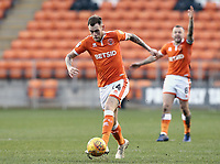 Blackpool's Harry Pritchard (left) and Jay Spearing<br /> <br /> Photographer Rich Linley/CameraSport<br /> <br /> The EFL Sky Bet League One - Blackpool v Barnsley - Saturday 22nd December 2018 - Bloomfield Road - Blackpool<br /> <br /> World Copyright &copy; 2018 CameraSport. All rights reserved. 43 Linden Ave. Countesthorpe. Leicester. England. LE8 5PG - Tel: +44 (0) 116 277 4147 - admin@camerasport.com - www.camerasport.com