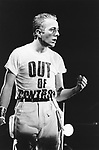 The Clash  1984 Joe Strummer..