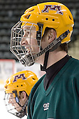(PJ Atherton) Mike Howe - The University of Minnesota Golden Gophers took part in their morning skate at Ralph Engelstad Arena in Grand Forks, North Dakota, on Saturday, December 10, 2005.