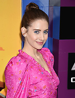 WESTWOOD, CA - FEBRUARY 02: Alison Brie attends the Premiere Of Warner Bros. Pictures' 'The Lego Movie 2: The Second Part' at Regency Village Theatre on February 2, 2019 in Westwood, California.<br /> CAP/ROT/TM<br /> ©TM/ROT/Capital Pictures