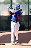 Kellin Deglan - Texas Rangers - 2010 Instructional League.Photo by:  Bill Mitchell/Four Seam Images..
