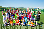 Enjoying the John Mitchels GAA Club  summer camp for boys and girls aged between 5 and 12 years on Tuesday